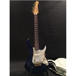 YAMAHA PACIFICA STRAT STYLE ELECTRIC GUITAR, WITH TWO SINGLE COIL PICKUPS AND ONE HUMBUCKER