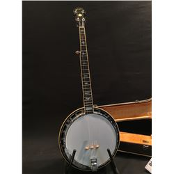 NORTHERN 5 STRING BANJO, NO MODEL NUMBER, COMES WITH HARD SHELL CASE