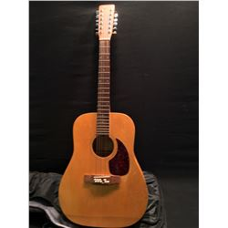 NORMAN MODEL B20-12 ACOUSTIC GUITAR, MADE IN CANADA, COMES WITH SOFT SHELL CASE