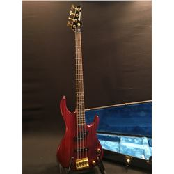 IBANEZ R SERIES 4 STRING ELECTRIC BASS GUITAR, WITH TWO SINGLE COIL PICKUPS, THREE VOLUME/TONE