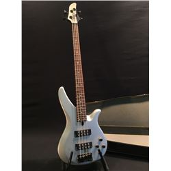 YAMAHA MODEL RB374 ACTIVE 4 STRING ELECTRIC BASS, WITH TWO HUMBUCKER PICKUPS, COMES WITH HARD SHELL