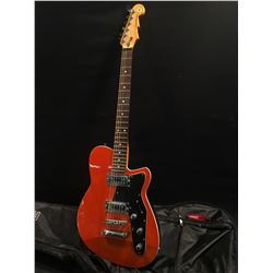 REVEREND ELECTRIC GUITAR, MADE IN 2008, HAS TWO CUSTOM REVEREND HUMBUCKER PICKUPS, VOLUME AND TWO