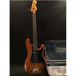 VINTAGE FENDER PRECISION BASS, PRE-CBS ERA, MADE IN 1963 AT THE FULLERTON PLANT IN USA, SERIAL