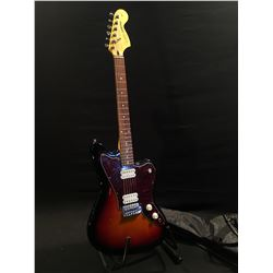 SQUIER JAGMASTER OFFSET BODY ELECTRIC GUITAR, WITH TWO HUMBUCKER PICKUPS, THREE POSITION PICKUP