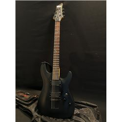 SCHECTER DIAMOND SERIES MODEL DAMIEN 6 GUITAR, WITH TWO HUMBUCKER EMG-HZ PICKUPS, THREE POSITION