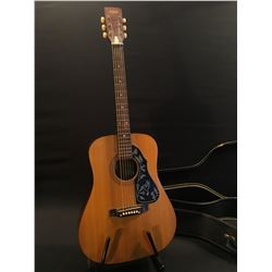 VINTAGE MARLIN MODEL 11-1 ACOUSTIC GUITAR, WITH NICK MANOLOFF BAR FOR SLIDE PLAYING, COMES WITH