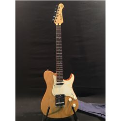 YAMAHA PACIFICA TELE STYLE ELECTRIC GUITAR, WITH TWO SINGLE COIL PICKUPS, ASHTRAY BRIDGE, THREE