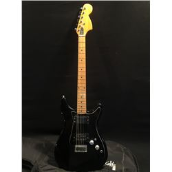 NO NAME STRAT STYLE ELECTRIC GUITAR, WITH TWO DIFFERENT STYLE HUMBUCKER PICKUPS, TWO POSITION