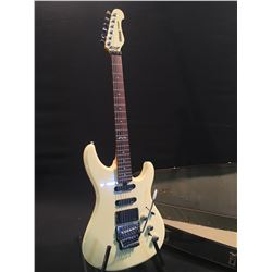 YAMAHA MODEL SE612A ELECTRIC GUITAR, WITH HUMBUCKER PICKUPS, TWO SINGLE COIL PICKUPS, FLOYD ROSE