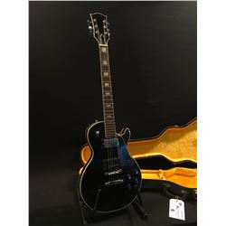 NO NAME, MADE IN JAPAN, LES PAUL COPY, WITH TWO HUMBUCKER PICKUPS, PICK GUARD, THREE POSITION