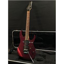 IBANEZ RG SERIES ELECTRIC GUITAR, WITH TWO HUMBUCKER PICKUPS, SINGLE COIL PICKUP, FLOYD ROSE STYLE