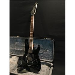 IBANEZ MODEL S520EX GUITAR WITH TWO IBZ INF1/INF2 PICKUPS, FLOYD ROSE LOCKING VIBRATO BRIDGE/NUT,
