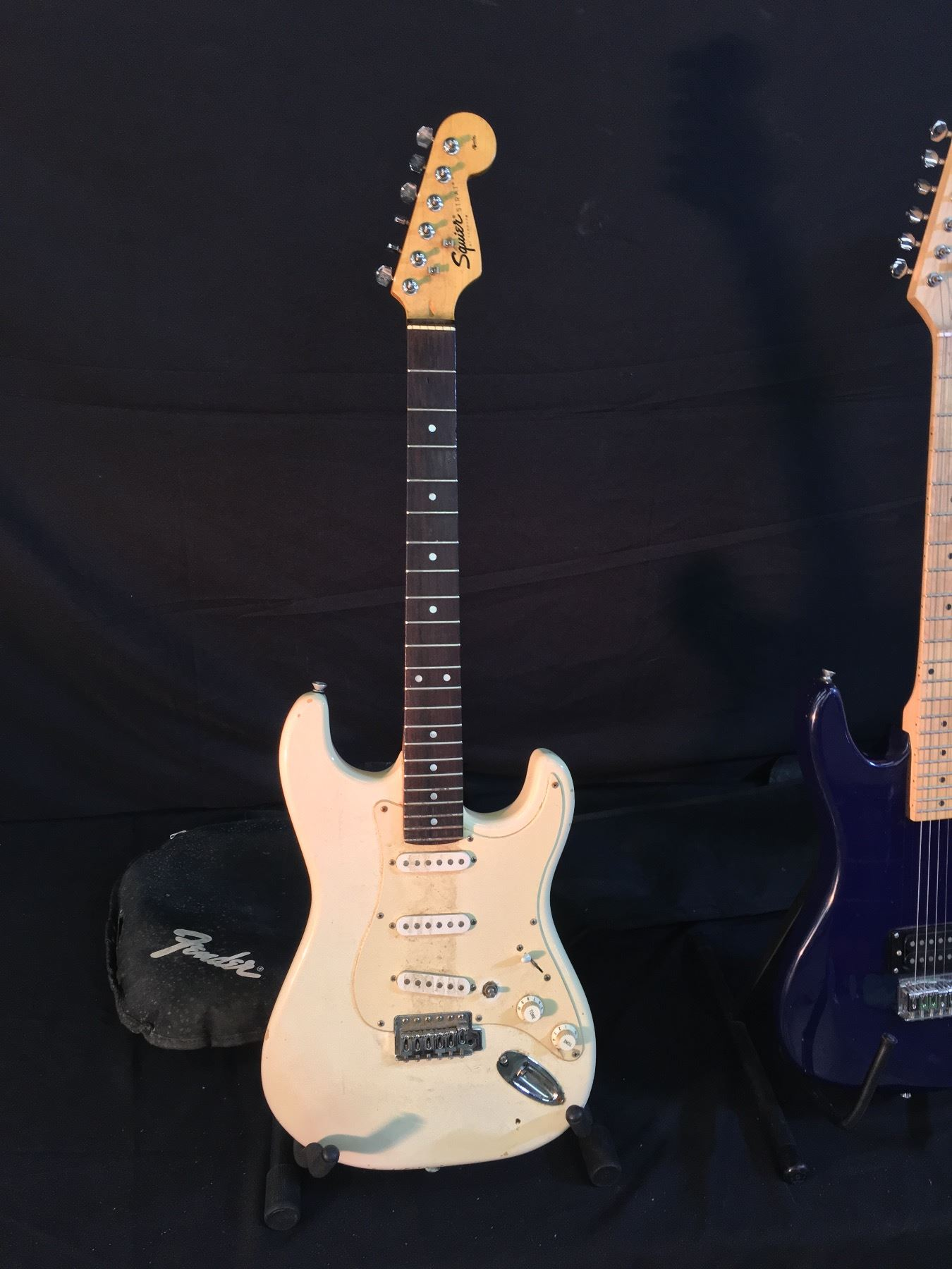 Wonderful Bulldog Security Products Big Free Technical Service Bulletins Online Solid Two Humbuckers One Volume One Tone Tsb Search Youthful Remote Start Wiring PinkBulldog Remote Start Installation 3 GUITARS: SQUIER STRAT WITH SOFT SHELL CASE, \u0027B\u0027 SINGLE HUMBUCKER ..