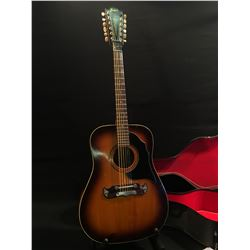 FRAMUS TEXAN 5/296 12 STRING ACOUSTIC GUITAR, SERIAL NUMBER 25293, MADE IN WEST GERMANY, COMES WITH