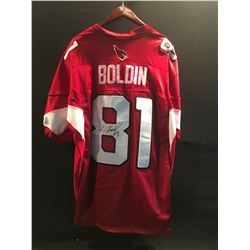 ANQUAN BOLDIN AUTOGRAPHED AUTHENTIC ARIZONA CARDINALS JERSEY
