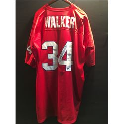 HERSCHEL WALKER AUTOGRAPHED 1985 NEW JERSEY GENERALS OF THE UNITED STATES FOOTBALL LEAGUE JERSEY,
