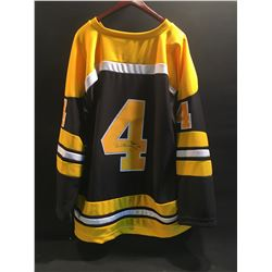 BOBBY ORR AUTOGRAPHED AUTHENTIC BOSTON BRUINS JERSEY