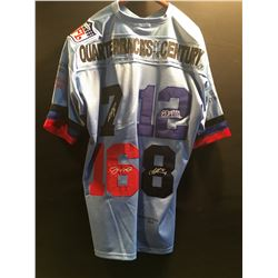 """QUARTERBACKS OF THE CENTURY"" LIMITED EDITION NFL JERSEY FEATURING MICHAEL VICK, JOE MONTANA, JIM"