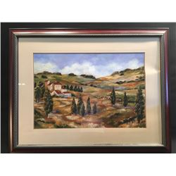 EUROPEAN COUNTRYSIDE FRAMED PRINT