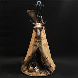B.C. NATIVE TIPI DISPLAY FIXTURE BASE