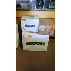 New Sunpower SPR 4000M Inverter, Sunpower SPR-DC-DIS2TL-M-US Disconnect, SPM-101-SPR Power Manager