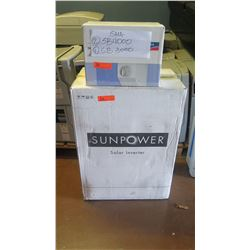 New Sunpower SPR 5001M Inverter, SMA DC-DISCONU-21 Disconnect