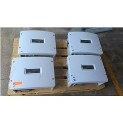 Qty 3 Sunpower SPR 3000M Inverters, Qty 1 Sunpower SPR 4000M Inverters (Previously Installed, Workin