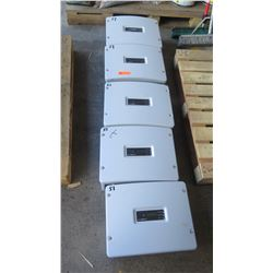 Qty 5 Sunpower SPR 3000M Solar Inverters - Previously Installed, Working