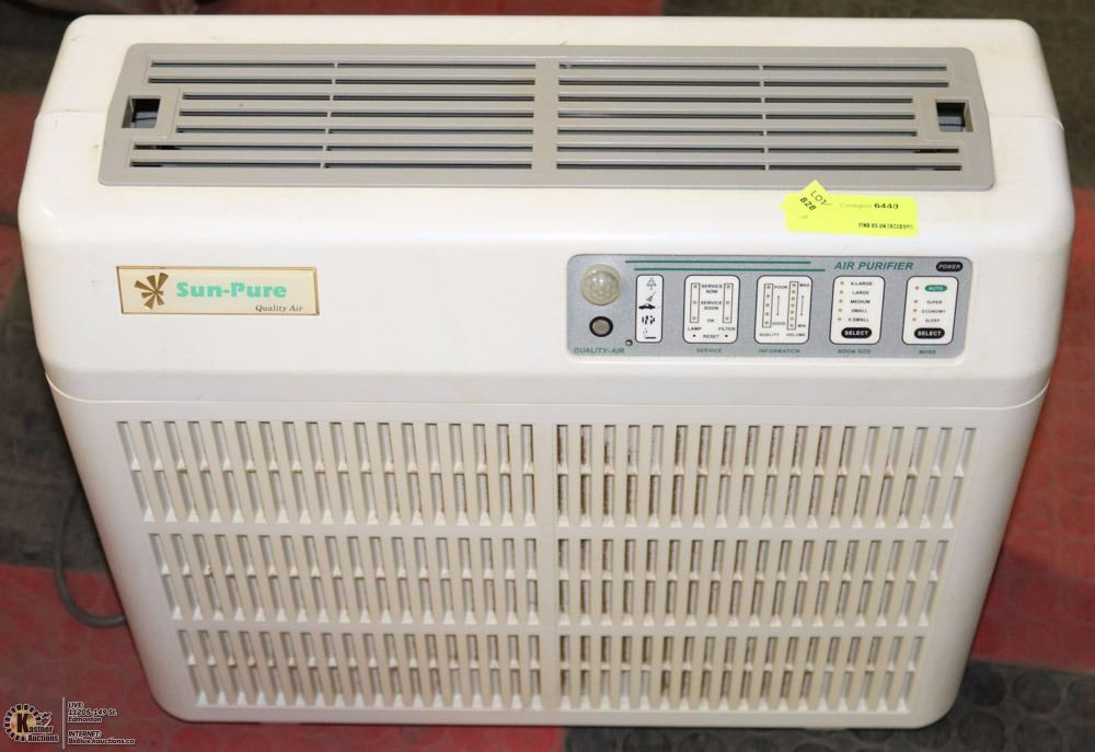 Pure Air Cleaner : Sun pure air cleaner kastner auctions