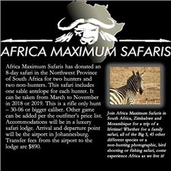 Africa Maximum Safaris