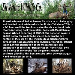 Silvertine Wildlife