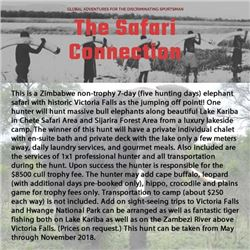 The Safari Connection and Jimba Safaris