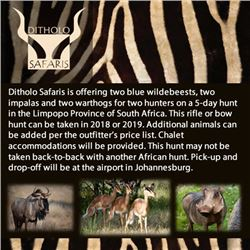 Ditholo Safaris