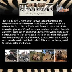 Ubathi's Global Safaris