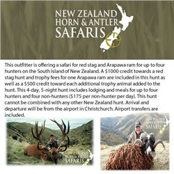 New Zealand Horn & Antler Safaris