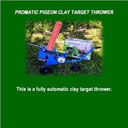 Promatic Pigeon Clay Target Thrower