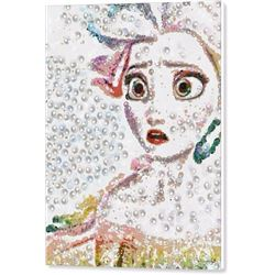 Elsa Art Pearlesqued In Fragments Print on Canvas