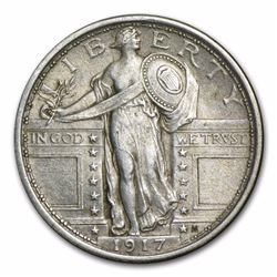 1917 Standing Liberty Quarter Coin Type I