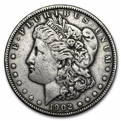 1902 $1 Morgan Silver Dollar Coin
