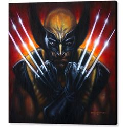 Wolverine Print on Canvas