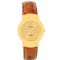 Rolex Cellini 18KT Yellow Gold Ladies Wristwatch