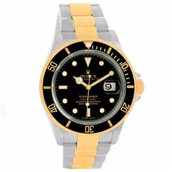 Rolex Submariner 18KT Two Tone Gold Mens Wristwatch