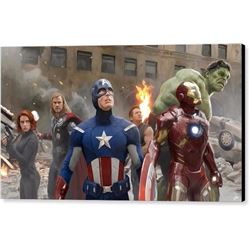 Avengers Print on Canvas