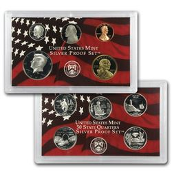 2003 (10) Coin Silver Proof Set