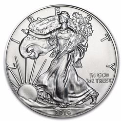 2016 1 oz American Eagle Silver Coin