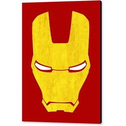 The Iron Man Print on Canvas