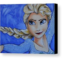 Elsa Print on Canvas
