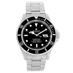 Rolex Submariner Stainless Steel Mens Wristwatch