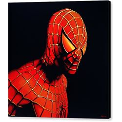 Spiderman Print on Canvas