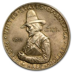 1921 Commemorative Pilgrim Half Dollar Coin